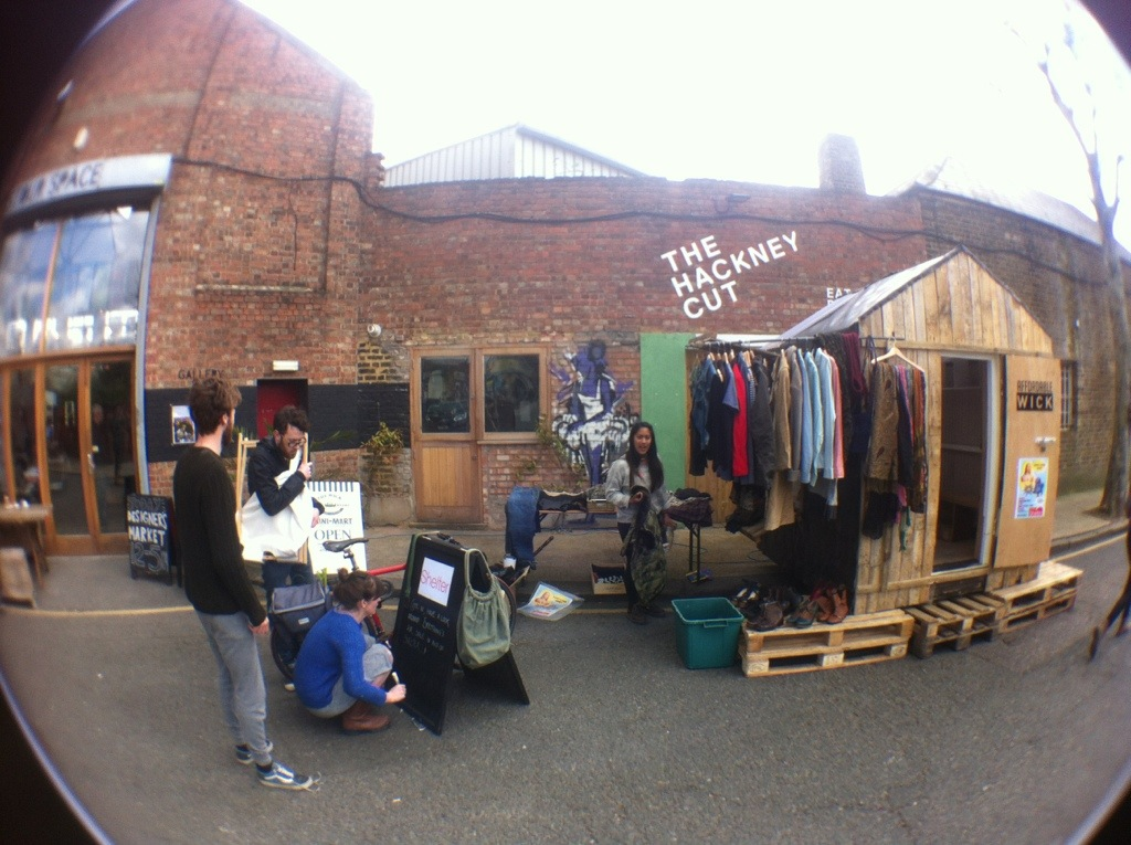 Pop up market at Stour Space designers market