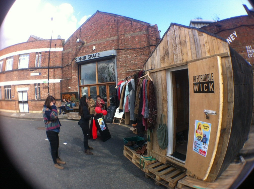 Roaming Workspace at Stour Space Designer Market