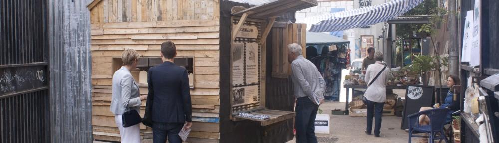 The cabin Gallery at Vittoria Wharf yard