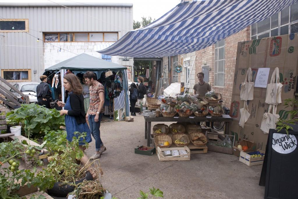 Organic Wick Food Stall