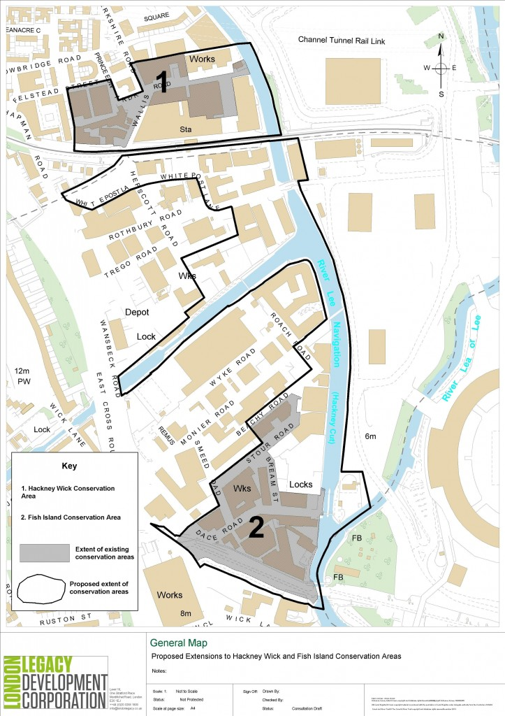 Hackney Wick and Fish Island proposed conservation area