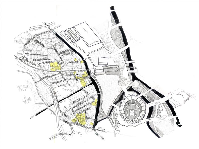 HWFI OLYMPIC PARK MAP