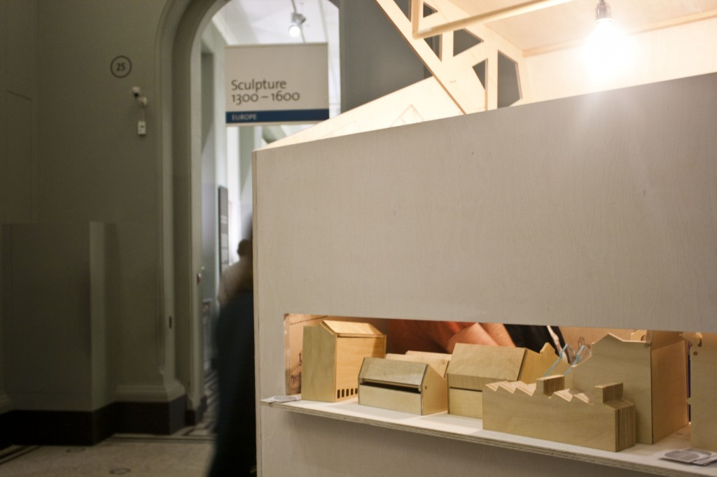 HWFI Conservation Factory at the Victoria and Albert Museum