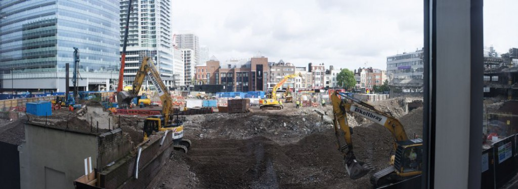 Neighbouring building site